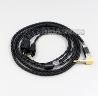 XLR Balanced 3.5mm 2.5mm 8 Cores Silver Plated Headphone Cable For FOSTEX TTH900/909/600/X00/610 MKII MK2 LN006338