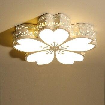 โมเดิร์นไฟ Led เพดานแฟชั่นอะคริลิค Plafonnier ดอกไม้รูปร่าง Lamparas De Techo ห้องนอนห้องนั่งเล่นโคมไฟ