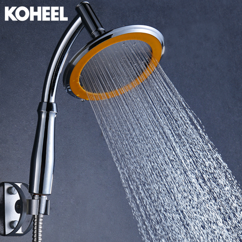 Rain Shower Inches ABS Plastic&stainless Steel Bathroom Shower Head ...