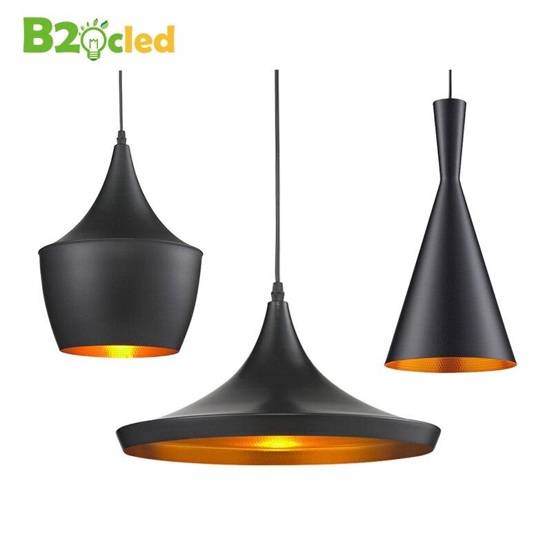 European Vintage Style led pendant light E27 base lamp droplight lighting for restaurant home decoration suspension