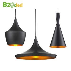 Image 1 - Подвесной светильник E27 в европейском винтажном стиле, подвесной светильник для ресторана, украшения дома