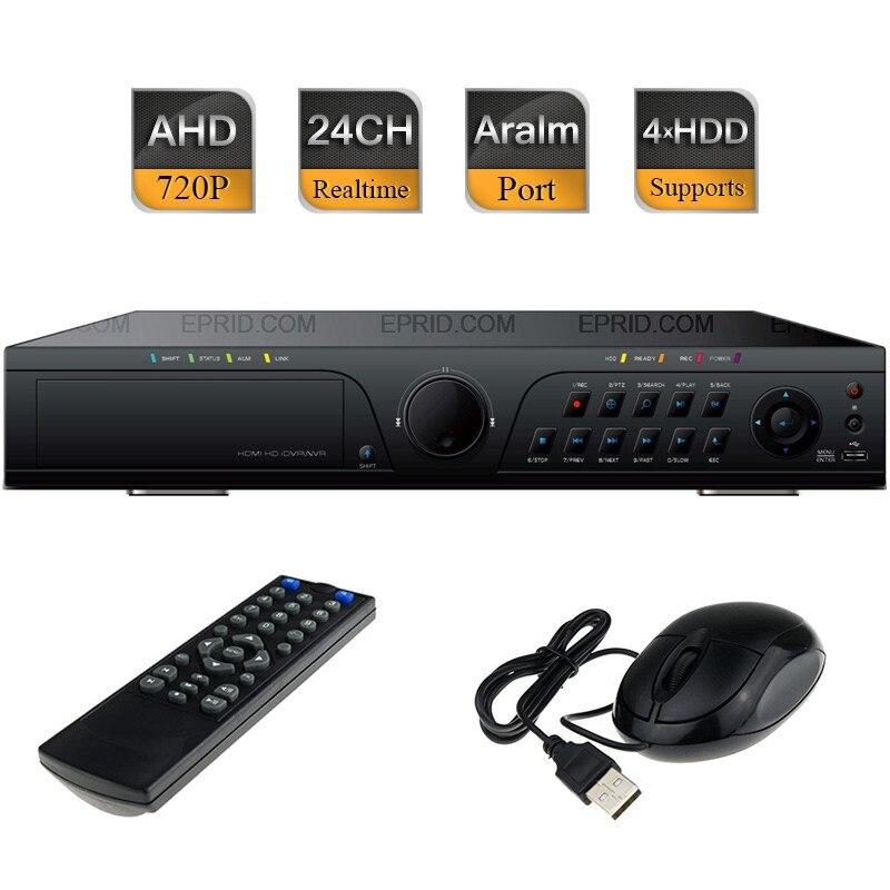 24CH AHD-M 720P Realtime Recorder Hybrid DVR HVR HDMI NVR 16/4 Alarm 4SATA24CH AHD-M 720P Realtime Recorder Hybrid DVR HVR HDMI NVR 16/4 Alarm 4SATA