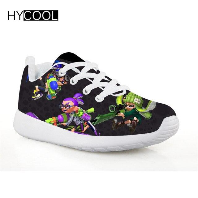 Zapatos para correr para niños HYCOOL splattoon 2 zapatos deportivos para  exteriores para niños a4f67f7cf4822
