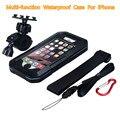 Водонепроницаемый Чехол Дайвинг Плавание Для iPhone 6 s/6 s Plus/6/6 Plus/5/5S/5c/SE Крышка Shell С Держателем Для Велосипеда Велосипедов Телефон Стенд
