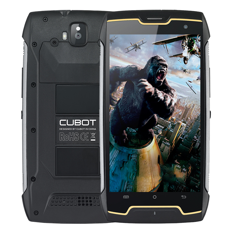 Original CUBOT KINGKONG IP68 Rugged Waterproof Shockproof Mobile Phone MT6580 Quad Core 2GB RAM 16GB ROM