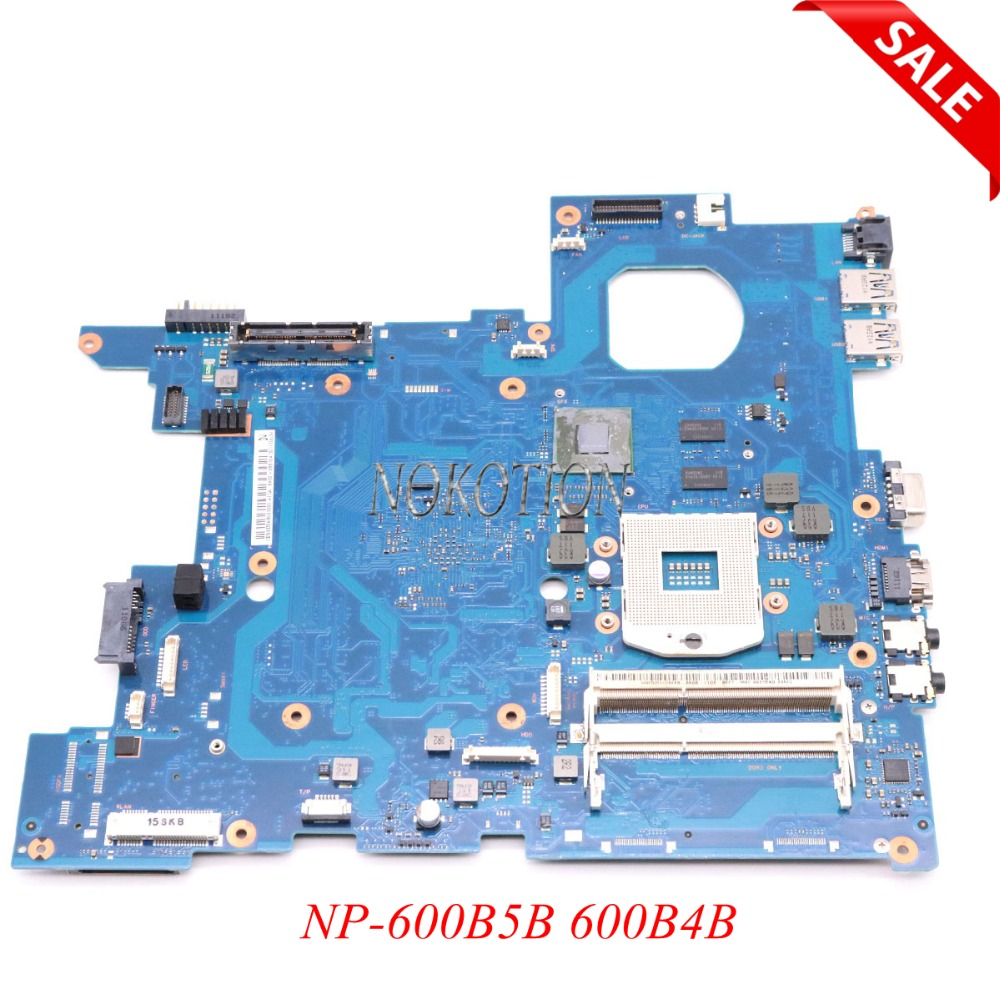 NOKOTION BA92-08810A BA92-08810B Main board For Samsung NP-600B5B 600B4B 600B5B-S02 Laptop motherboard QM67 DDR3 NVS4200M nokotion ba92 06345a ba92 06345b laptop motherboard for samsung np r530 r530 pc main board ddr3 pm45 gt310m