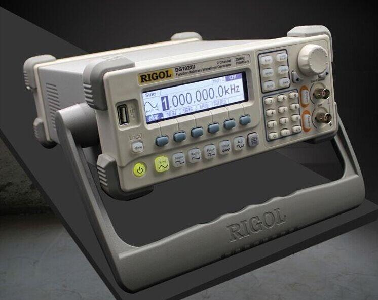 RIGOL DG1022U 25MHz Arbitrary Waveform Frequency meter Function Generator With USB Signal generator hot selling signal generator rigol dg1022u updated from dg1022 2 channel 25 mhz function waveform signal generator