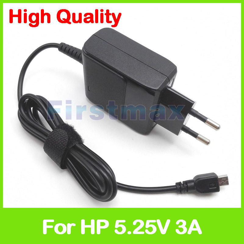 5.25V 3A 15.75W laptop adapter for HP Pavilion 10-j000 10-k000 10-n000 x2 detachable tablet pc charger PA-1150-22HS PA-1150-22GO 120w ac power adapter charger for hp ppp016l e pa 1121 42hq ppp016c ppp016h pc charger 18 5v 6 5a