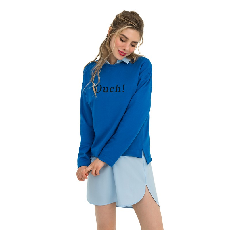 Sweaters befree 1831238452-45 jumper sweater pullover women clothes for female apparel TMallFS