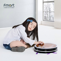 Fmart Robotic Cleaner 3 In 1 Suction Sweep Mop Vacuum Cleaner For Pet Home Appliances Brushs