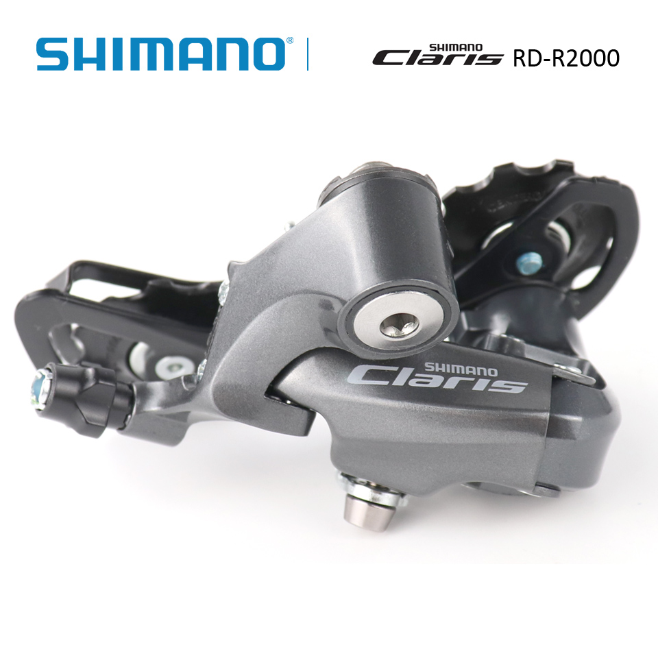 <font><b>Shimano</b></font> <font><b>Claris</b></font> RD-<font><b>R2000</b></font>-SS 8S SS Short Cage Road Bike <font><b>R2000</b></font> Rear Derailleurs Upgraded image