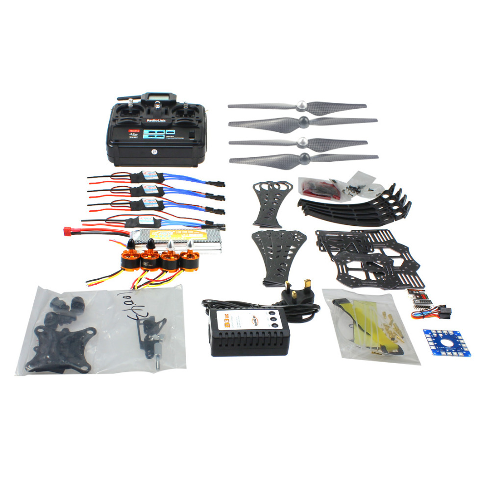 F14892-I DIY RC Drone Quadrocopter RTF X4M360L Frame Kit QQ Super 6CH TX Gimbal diy rc drone quadrocopter rtf x4m360l frame kit qq super radiolink at9 f14892 h