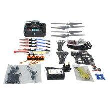 F14892-I DIY RC Drone Quadrocopter RTF X4M360L Frame Kit QQ Super 6CH TX Gimbal