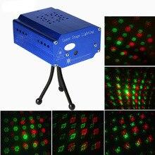 Ledステージライトポータブルマルチledプロジェクターdjディスコライト音楽ライトクリスマスパーティーウェディングクラブショーレーザー照明プロジェクター