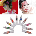Face Paint Body Painting Color Oil Painting Art Flash Tattoo Make Up Party Fancy Dress Halloween Carnival Makeup Tool 23ml White