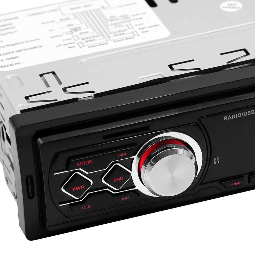 ラジオ usb なし bluetooth 車の自動車ラジオカセットレコーダーコシェ 1din indash カーステレオ FM 受信機オーディオ SD mp3 マルチメディアプレーヤー