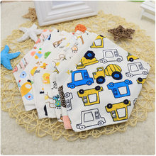 Limited Time Special Sale for Children Baby Saliva Towel Baby Buckle Korean Children's Triangle Baby Stuff for Newborns(China)
