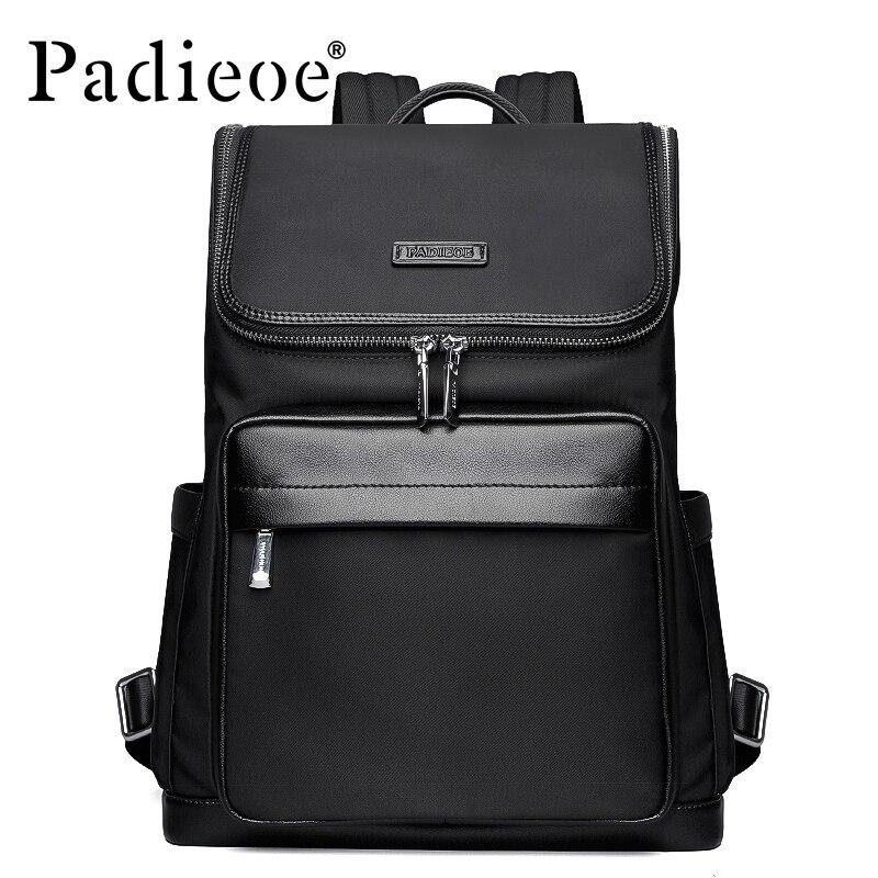 Padieoe 2017 Top Quality Nylon School Bag Backpack Fashion Durable Business man Backpack Fashion Casual Men's Daypack Backpacks
