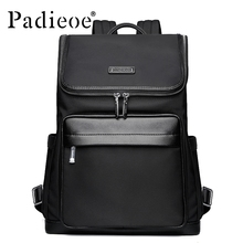 Padieoe 2017 Top Quality Nylon School Bag Backpack Fashion Durable Business man Backpack Fashion Casual Men's Daypack Backpacks