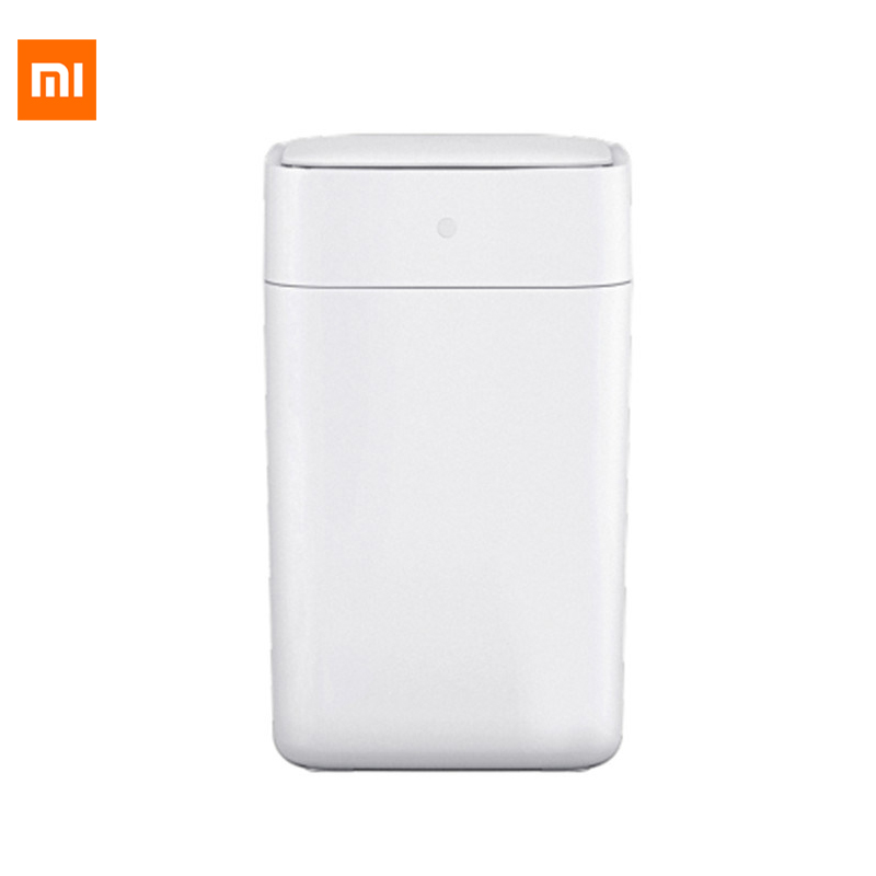 Original Xiaomi Mijia Townew T1 Smart Trash Can Motion Sensor Auto Sealing Led Induction Cover Trash 15.5l Mi Home Ashcan Bins Home Appliance Parts