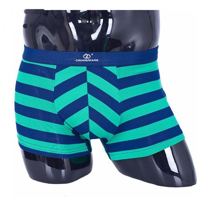 New arrival! 2015 striped design men boxer shorts, comfortable and breathable underwear men boxers shorts  SIZE L-XXXL  32