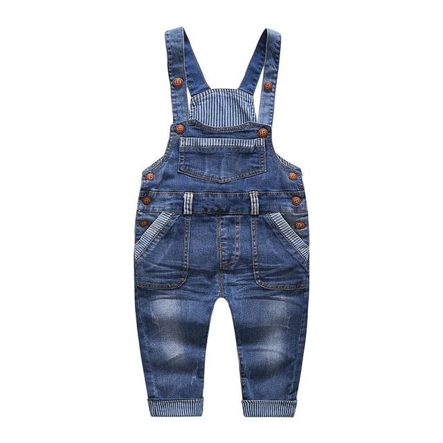hot sales 4c571 99bb1 US $21.0 |Ragazzi Ragazze Tute di Jeans Bambino Tuta Tuta Jeans Carino  Lettera Denim Ragazzo infantile abbigliamento Per Bambini Pantaloni Tuta 1  2 3 ...