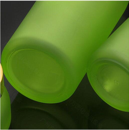 Skin Toner Suit Empty Bottle Silver Gold Carved lid Green Emulsion Bottle Glass Cream Lotion Pump 30ml 50ml 120ml 30g 50g (10)