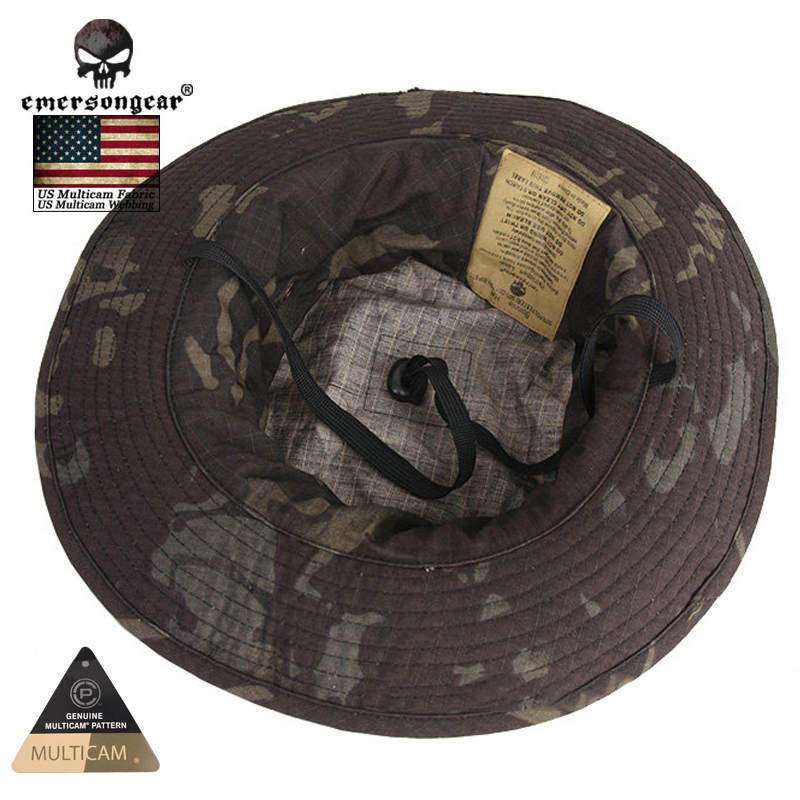 88247a99844f6 Emersongear Hunting Caps MILITARY Tactical Boonie Hat Multicam Black Bucket  Hats EM8729-in Hunting Caps from Sports   Entertainment on Aliexpress.com  ...