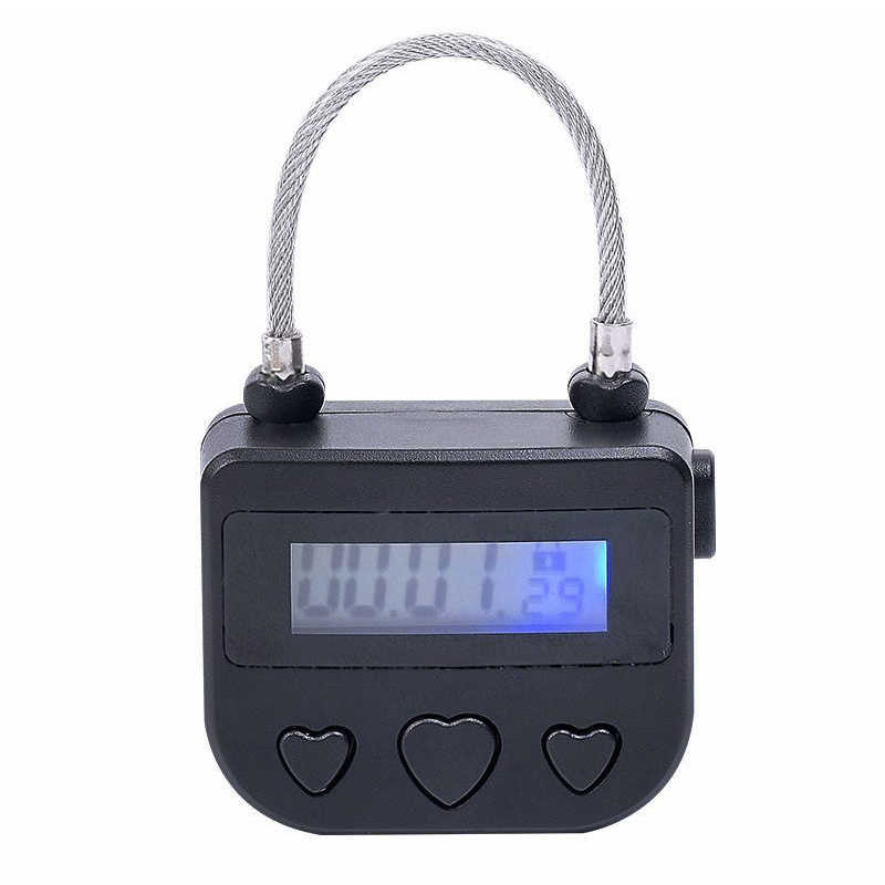 2019 Multipurpose USB Time-Lock Electronic Timer Tool for Ankle Handcuffs Mouth Gag DC88