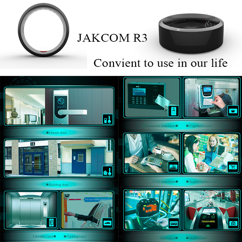Image 5 - Werable devices Jakcom R3 Smart Ring  electronic CNC Metal Mini Magic Ring with  IC / ID / NFC Card Reader For NFC Mobile Phoneringly smart ringnfc ring smartsmart nfc -