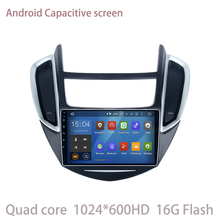 Android 5.1.1 Car Radio gps for Chevrolet Trax 2013 -2016 with Quad Core Mirror Link No disc auto multimedia Stereo SAT