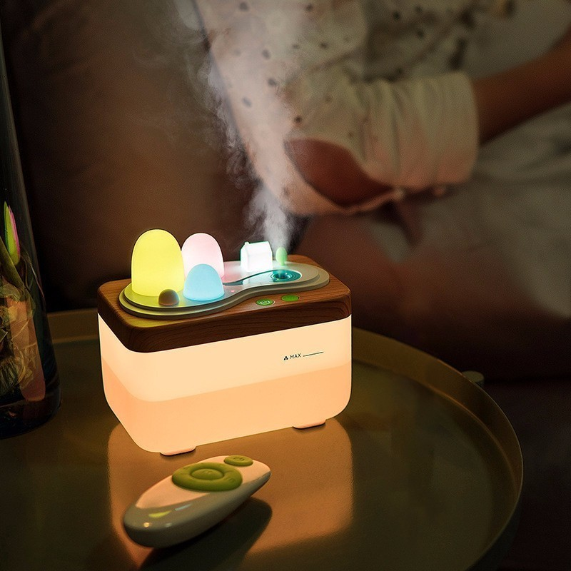 Aromatherapy Protecting Air Humidifier Fragrance Diffuser Night Lamp Aromatic LED Night Light Essential Oil Aroma Spray цены