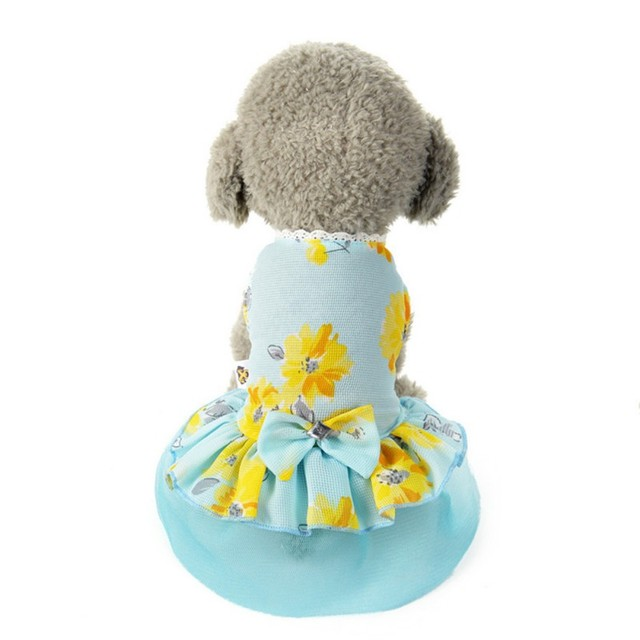 Sommer Pet Kleidung Stieg Kleid Hund Kleid für Kleine Hund ...