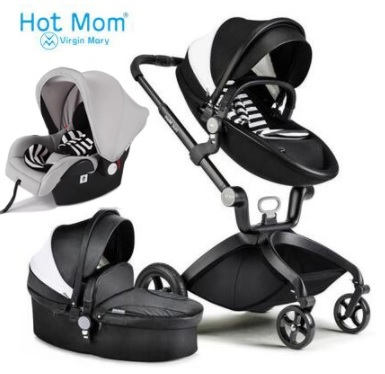 Baby Stroller Hot Mom 3/2 In 1 Analog Stroller Mima Xari Reviews, Aulon, Cool  Baby, Baby Stroller Car Seat With Free Shipping In Four Wheels Stroller  From ...