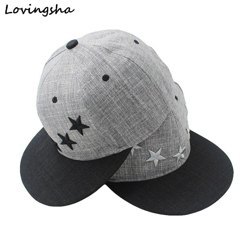 LOVINGSHA Star Embroidery Design Unisex Baseball Caps For Women Hot Selling Men Hip Hop Snapback Caps AD022 akg k271 mkii