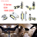 17pcs LED Canbus Interior Lights Kit Package For BMW 5 Series E39 (1996-2003)