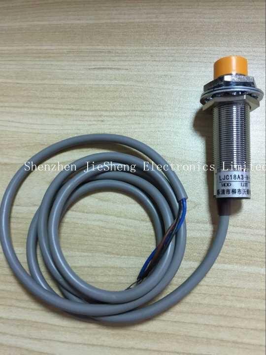 Бесплатная доставка LJC18A3-H-Z/BX 1-10 мм Емкость датчик приближения переключатель NPN NO DC 6-36V 300mA