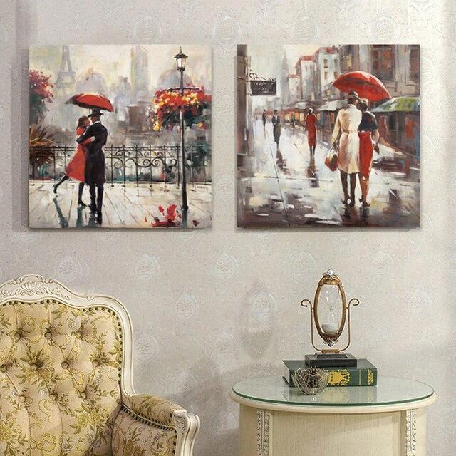 Buy wedding decoration oil painting - Peinture facile a reproduire ...