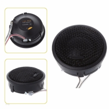 1 пара авто стерео аудио динамик твитер 120 Вт Максимальная мощность громкие куполообразные громкоговорители 92dB