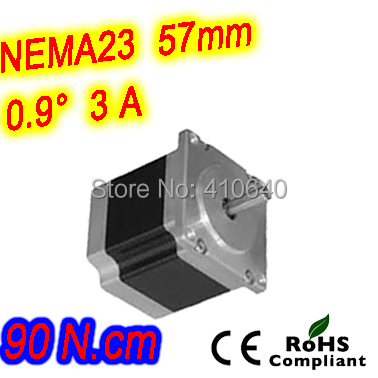 цена на 6 pieces per lot high resolution step motor 23HM22-3006S L 56 mm Nema23 with 1.8 deg 3 A 90 N.cm and unipolar 6 lead wires