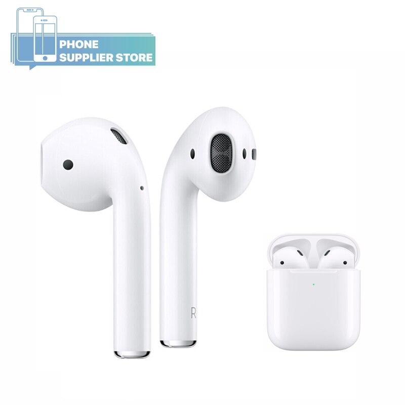 Original Apple AirPods 1, sans fil Bluetooth, utilisé écouteurs, pour iPhone Xs Max 7 Plus iPad MacBook Apple montre mains libres écouteurs