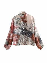 Women blouses Summer 2019 Chiffon blouse Plus size womens tops Fashion voile Bandage shirts Long sleeve Ladies