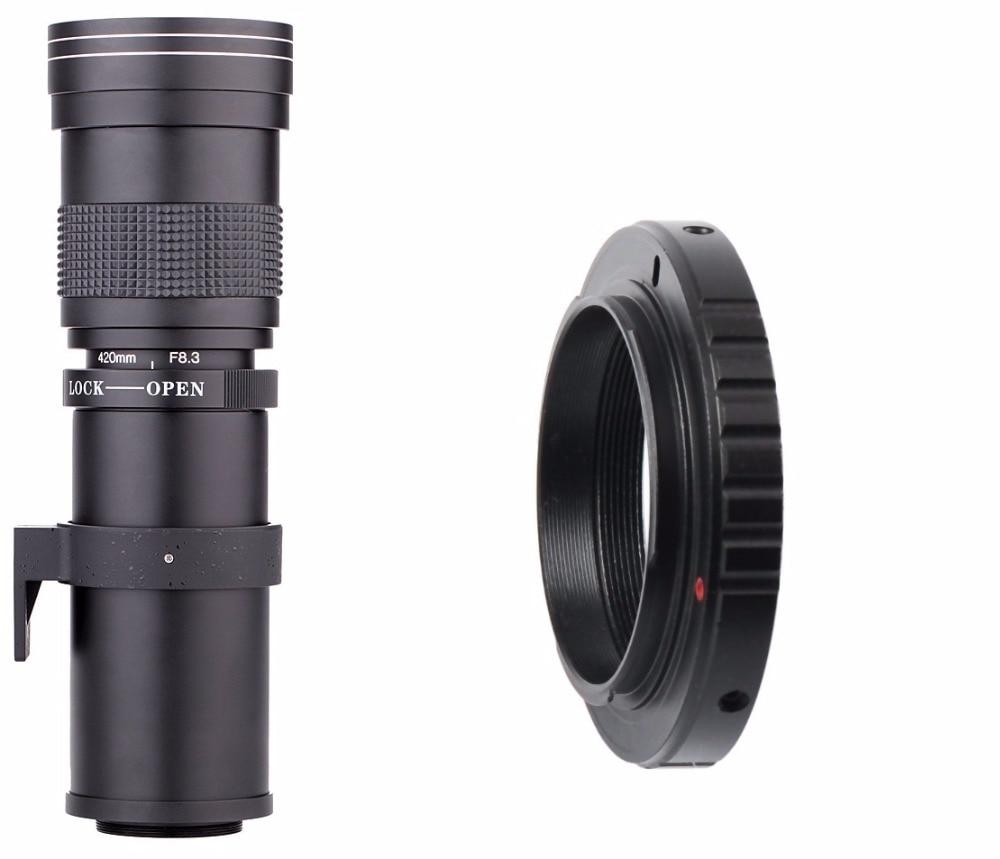 Lightdow 420-800mm F / 8.3-16 Super telefoto objektiv Ručni zum - Kamera i foto - Foto 3