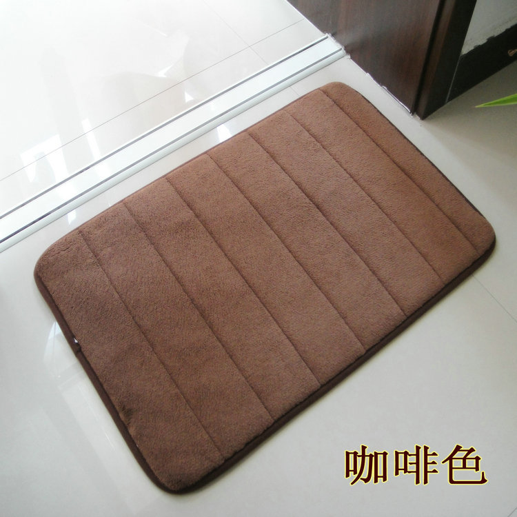 Carpet Living Room Coral Velvet Slow Rebound Memory Cotton Bathroom Thickened Non Slip Floor Mats Alfombras Michael Kores