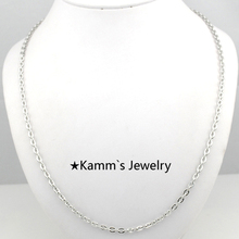 55cm 3 mm Accessories Wholesale Factory Price Lose Money Promotion Chain 316 Stainless Steel Necklace Hot