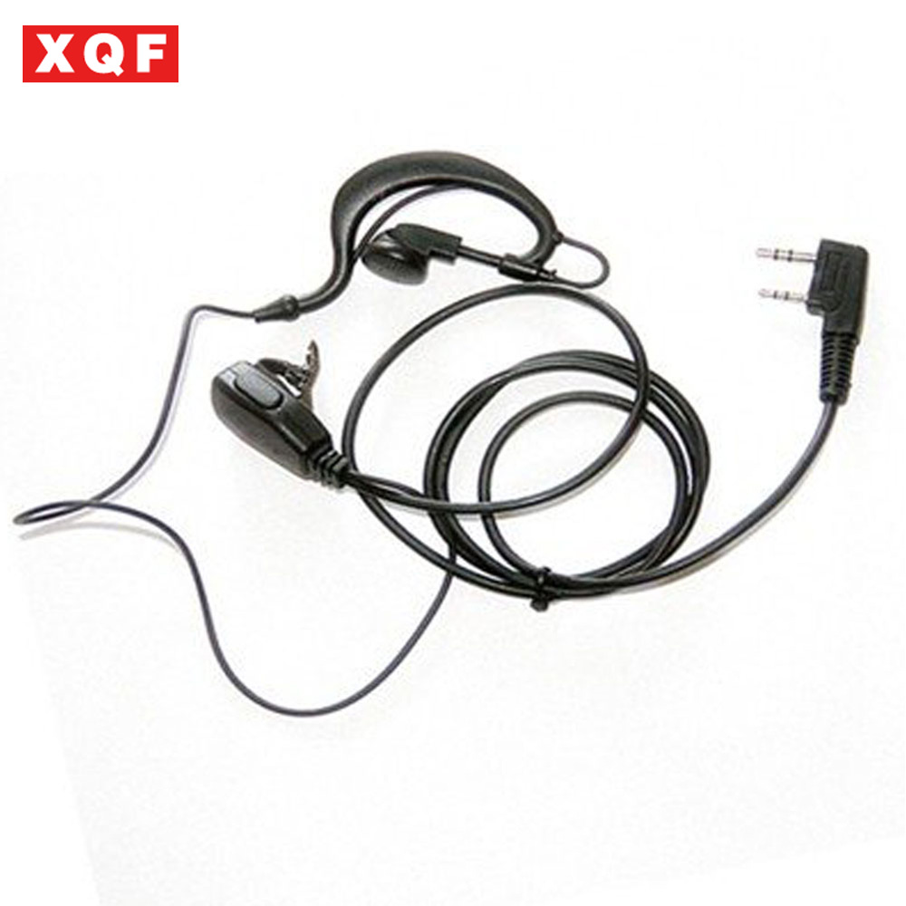 XQF Ear Hook Earpiece For Kenwood Radios TK-3207 TK-3107 TK-2207 TK-2107 TK-378G Etc.