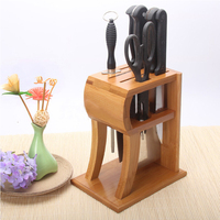 RSCHEF Multi function R knife holder kitchen storage storage knife seat drain ventilation knife socket kitchen supplies