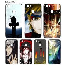 Black Silicon Soft Phone Case Anime Naruto For OPPO F5 F7 F9 A5 A7 R9S R15 R17 Bag