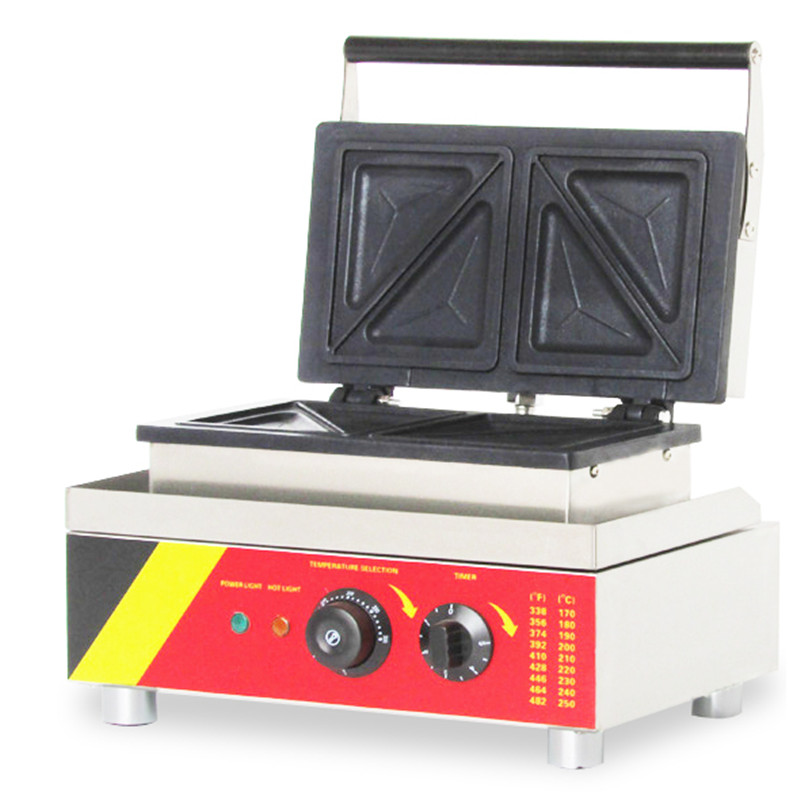 110V 220V Commercial Electric Waffle Muffin Maker Non-stick Sandwich Waffle Baking Machine For Commercial And Household