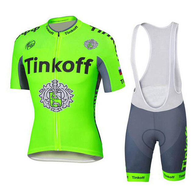 100% Polyester Short Sleeve Cycling Jerseys/Quick-Dry  Pro Team Summer Cycling Clothing Tinkoff 2016 Saxo Bank Roupa Ciclismo